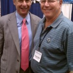 Howard Blitz with Presidential Candidate Gary Johnson