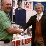 Larry Blitz and Thomas Jefferson (Bill Barker)